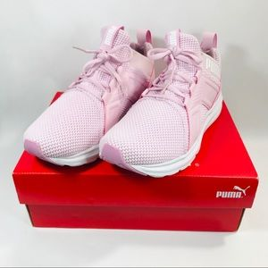 PUMA ENZO WEAVE ORCHID WOMENS LACE UP SNEAKERS 8 NWT